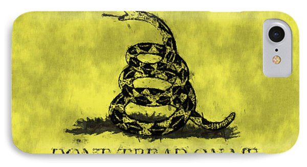 Gadsden Flag - Dont Tread On Me IPhone Case
