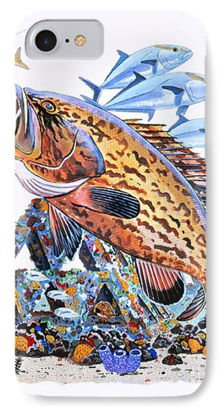 Gag Grouper IPhone Case by Carey Chen