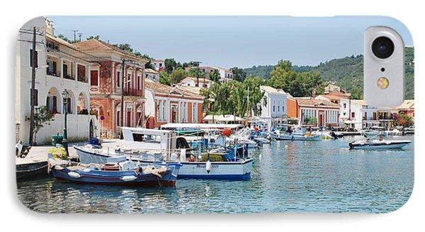 Gaios Harbour On Paxos IPhone Case