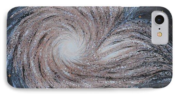 Galactic Amazing Dance Phone Case by Georgeta  Blanaru