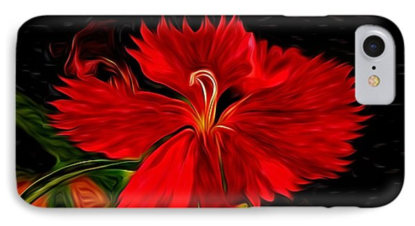 Galactic Dianthus Phone Case by David Kehrli