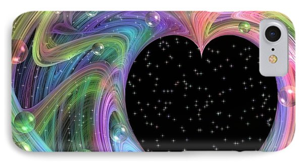 Galactic Love IPhone Case