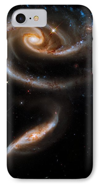 Galactic Rose IPhone Case by Adam Romanowicz
