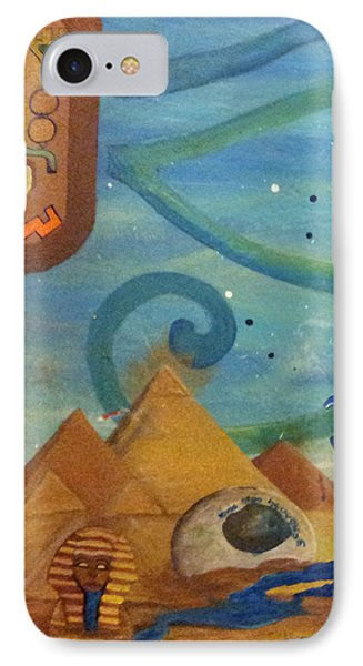 Galactic War Egyptian Release  IPhone Case