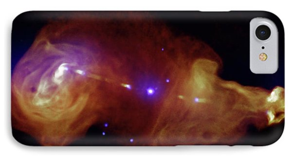 Galaxy And Supermassive Black Hole IPhone Case by Nasa