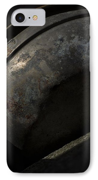 IPhone Case featuring the photograph Galaxy In A Galvanized Pan by Rebecca Sherman