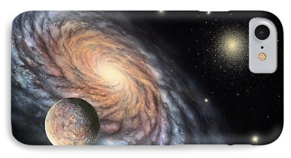 Galaxy IPhone Case by Richard Bizley