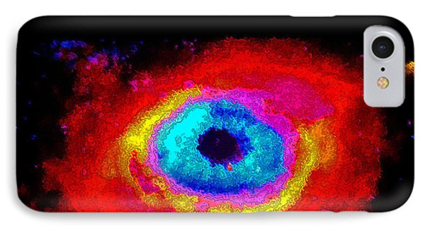 Galaxy IPhone Case by Val Oconnor