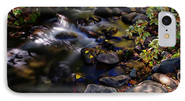 Galena Creek Fall Waterfall IPhone Case by Scott McGuire