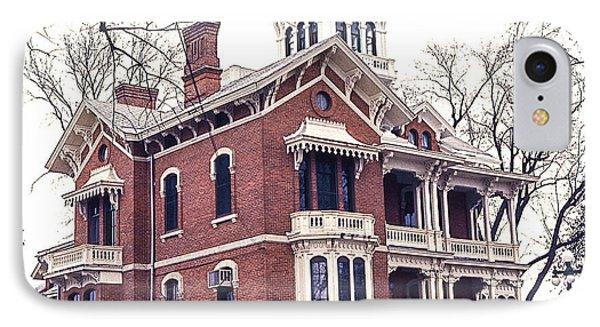 Galena Illinois. The Beautiful Victorian Belvedere Home. IPhone Case
