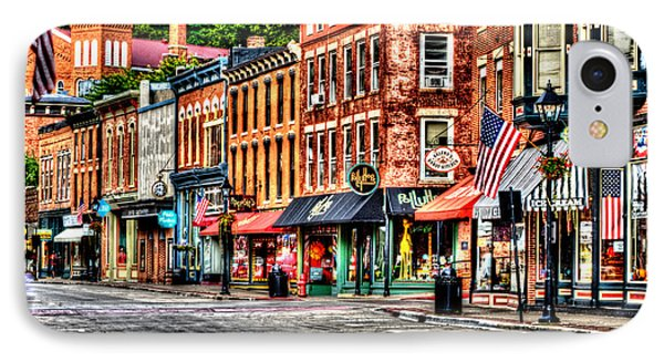Galena Main Street Early Summer Morning IPhone Case