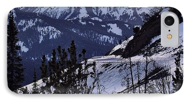 #galena #sunsets #idaho #mountains IPhone Case