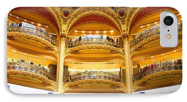 Galleries Laffayette  IPhone Case by Oleg Zavarzin