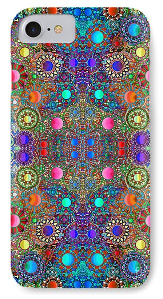 Gallimaufry Mirrored Version 3 IPhone Case by Devin  Cogger