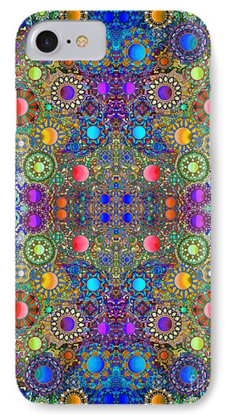 Gallimaufry Mirrored Version 4 IPhone Case by Devin  Cogger