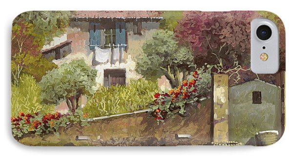 Galline IPhone Case by Guido Borelli
