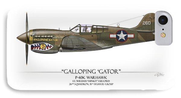 Galloping Gator P-40k Warhawk Phone Case by Craig Tinder