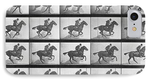 Galloping Horse IPhone Case by Eadweard Muybridge