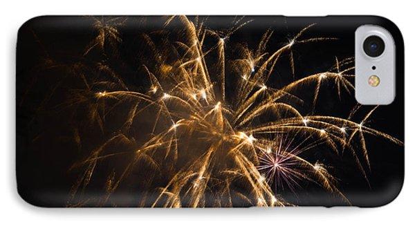 Galveston Fireworks Phone Case by Jason Brow