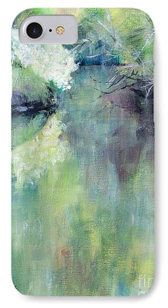IPhone Case featuring the painting Gamble Creek by Mary Lynne Powers