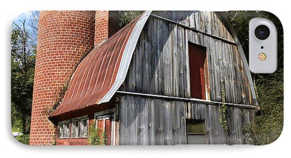 Gambrel-roofed Barn Phone Case by Paul Mashburn