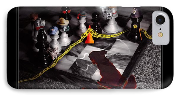Game - Chess - It's Only A Game IPhone Case