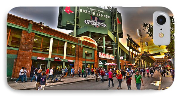 Game Night Fenway Park IPhone Case by Toby McGuire