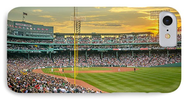 Fenway Park IPhone Case by Mike Ste Marie