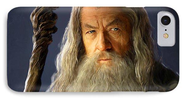Gandalf IPhone Case by Paul Tagliamonte