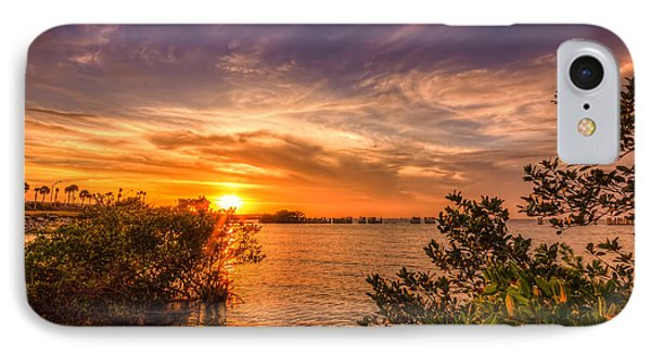 Gandy Sunset IPhone Case by Marvin Spates