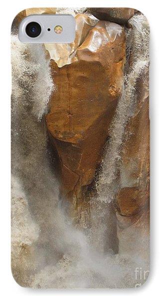 Ganesh Of Bhaghirathi IPhone Case by Agnieszka Ledwon