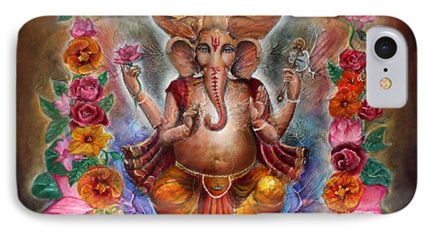 Ganesh IPhone Case by Vera Atlantia