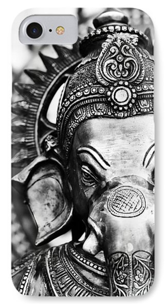 Ganesha Monochrome IPhone Case