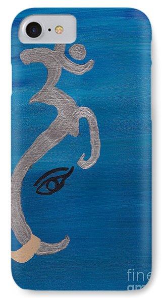 Ganesha-om  IPhone Case by Melissa Vijay Bharwani