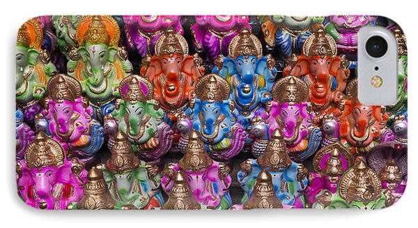 Ganesha Statue Pattern IPhone Case