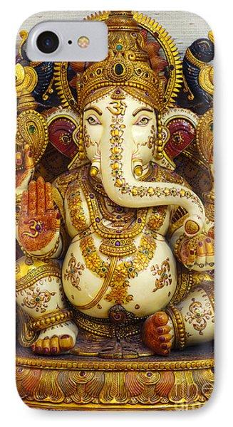 Ganesha  Phone Case by Tim Gainey