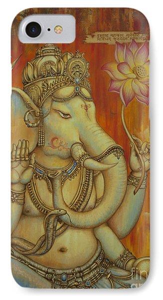 Ganesha Phone Case by Yuliya Glavnaya