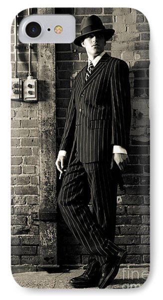 Gangster IPhone Case by Diane Diederich