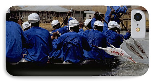 IPhone 7 Case featuring the photograph Ganvie - Lake Nokoue by Travel Pics
