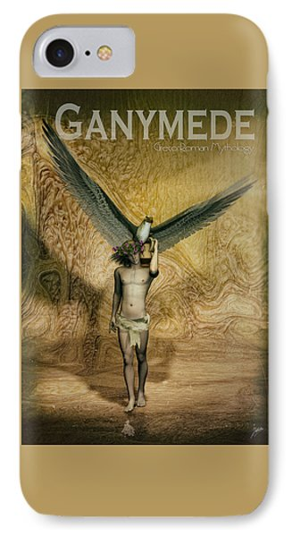 Ganymede IPhone Case by Quim Abella