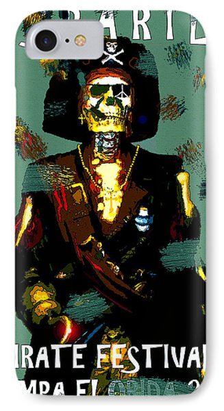 Gasparilla Pirate Fest 2015 Full Work IPhone Case by David Lee Thompson