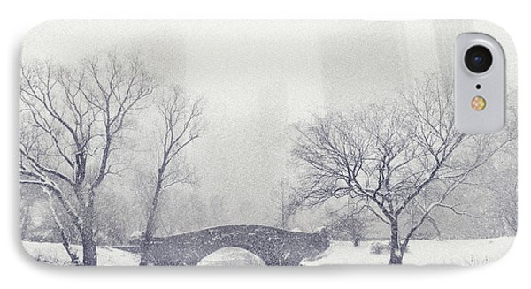 Gapstow Bridge In Winter IPhone Case by Jessica Jenney