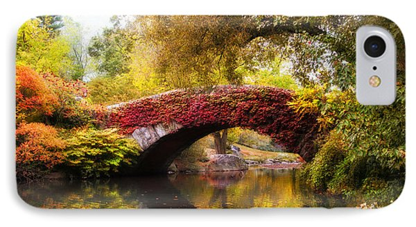 IPhone Case featuring the photograph Gapstow Bridge  by Jessica Jenney