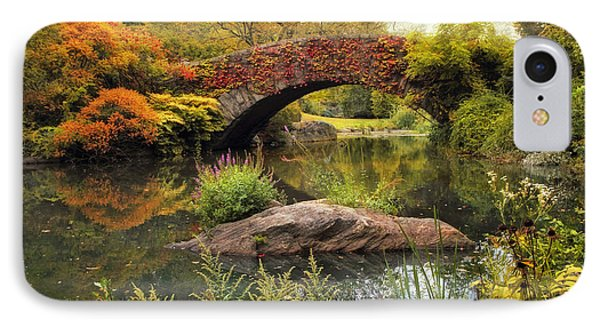 IPhone Case featuring the photograph Gapstow Bridge Serenity by Jessica Jenney