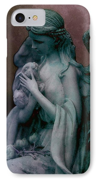 Forest Angel 3 IPhone Case by WB Johnston