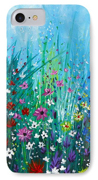 Garden At Early Morning Phone Case by Kume Bryant