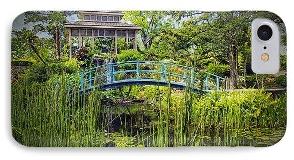 Garden At Houmas House Plantation La Dsc04584 IPhone Case by Greg Kluempers