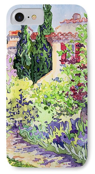 Garden At Vaison IPhone Case by Julia Gibson