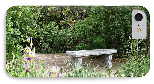 Garden Bench IPhone Case
