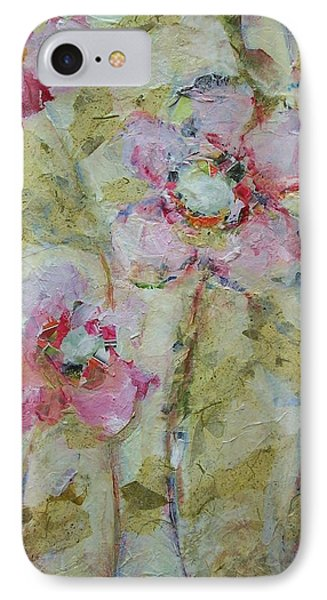 IPhone Case featuring the painting Garden Bliss by Mary Wolf